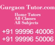 Gurgaon Home Tutors offer classroom coaching for class 12th CBSE Mathematics