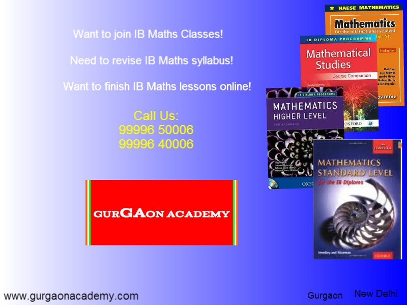 want to join ib maths online coaching new delhi gurgaon ncr india