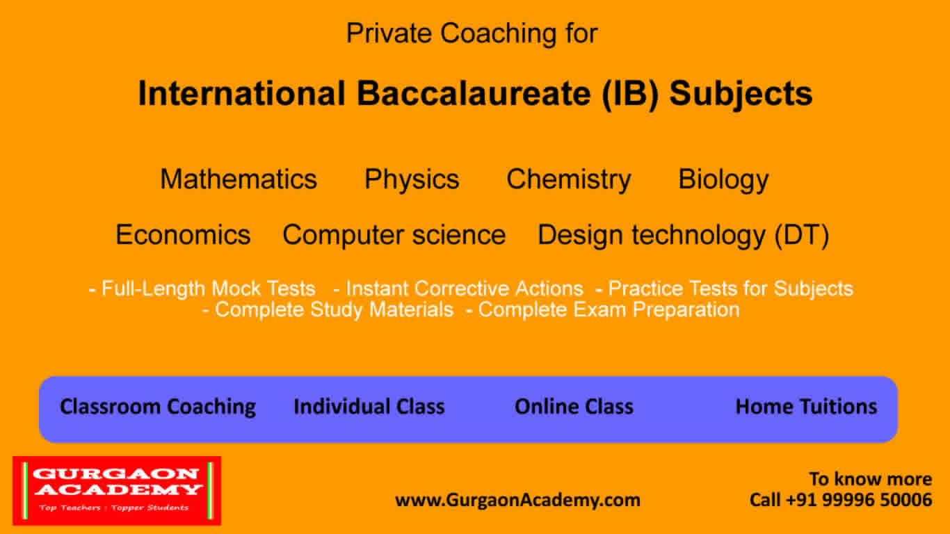 Online Class Tutor Tuition IB Diploma(99996 50006):Maths Physics HL SL Biology