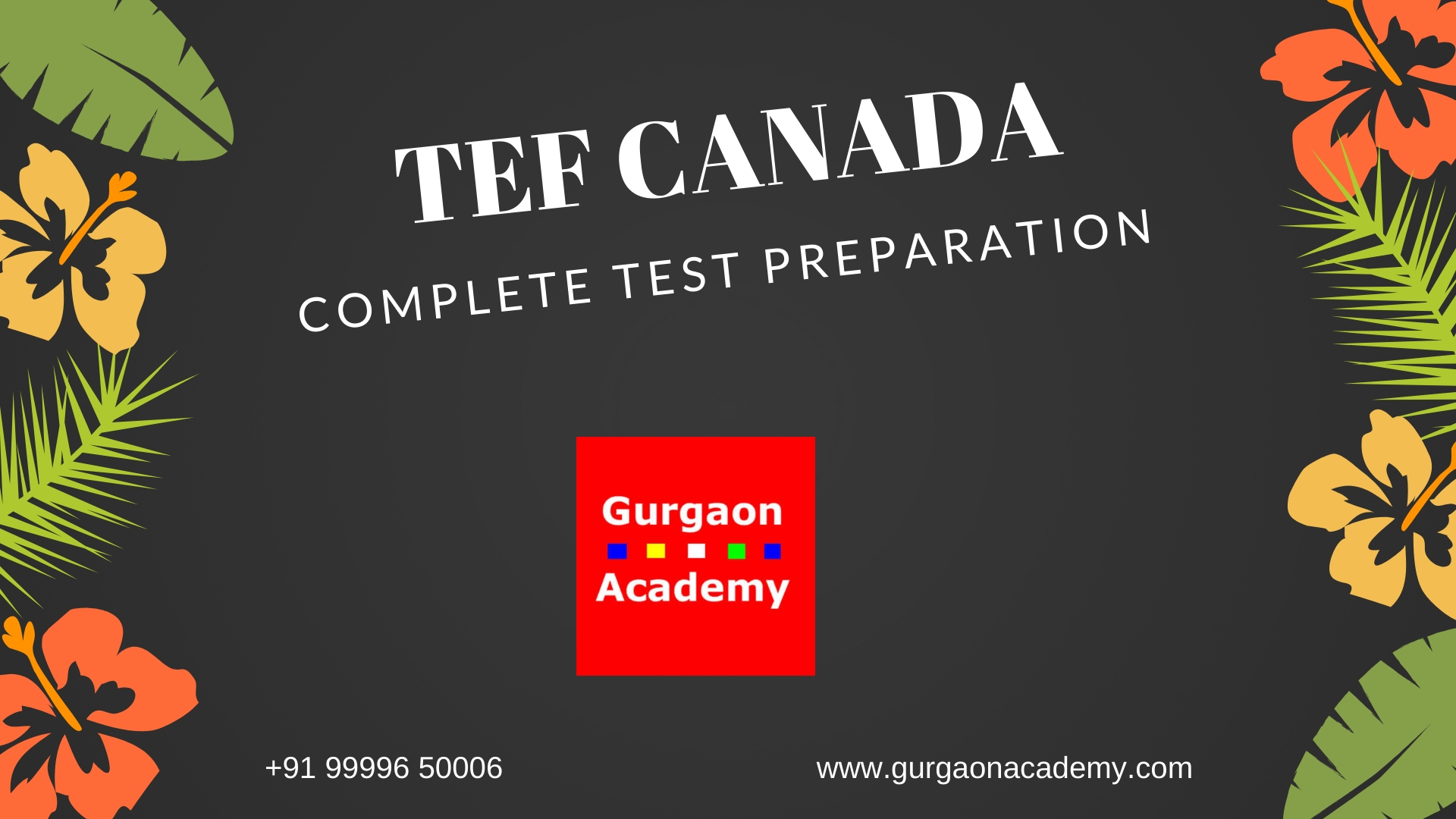 Best-Centre-TEF-CANADA-Test-Preparation-French-Language-Coaching-Institute-Classes-Learning-Delhi