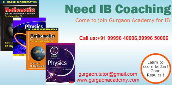 Looking for ICSE/IGCSE/CBSE/IB Diploma Tutor Tuition Teacher:Gurgaon Delhi
